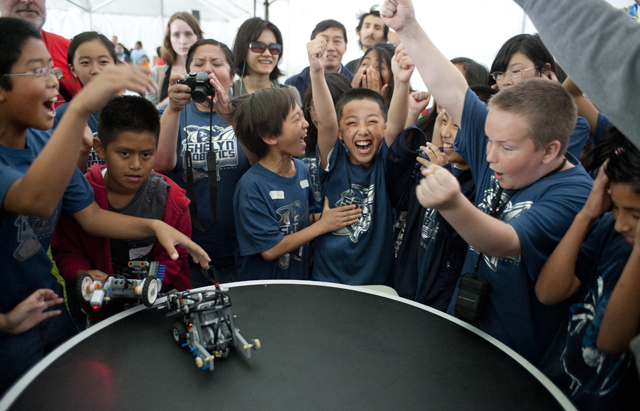 Students to Compete in Robot Rally May 10