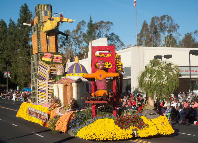 Make It Four in a Row at the Rose Parade