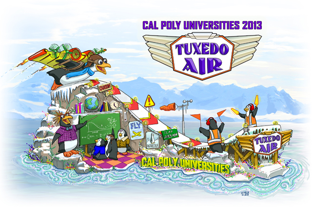 """Tuxedo Air"" to Take Flight at Rose Parade"