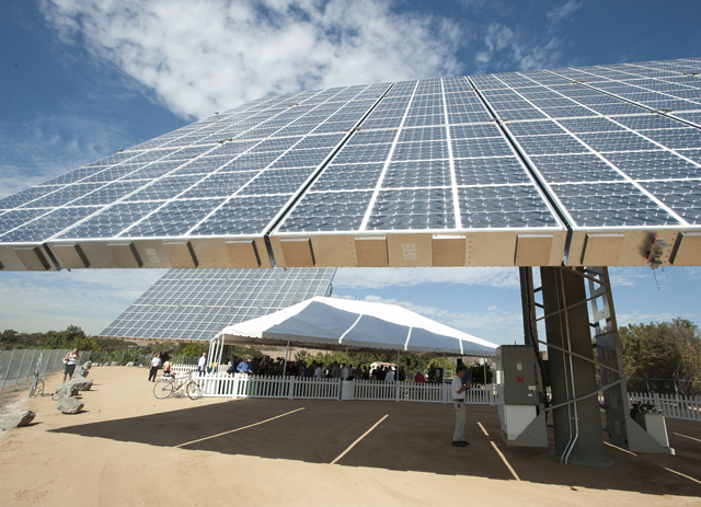 Lyle Center Goes Carbon Neutral with Amonix Solar Energy Systems