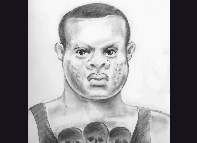 Sketch Released of Suspect in Sexual Battery