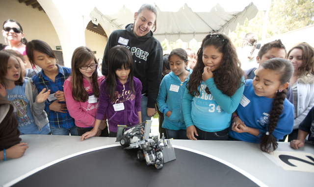 Robots Clash at Expo on Monday at Fairplex