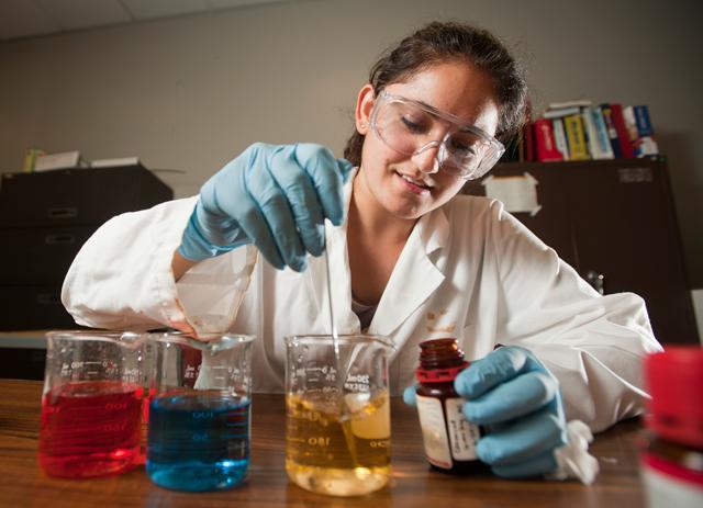 Michelle Chebeir, senior, chemical engineering