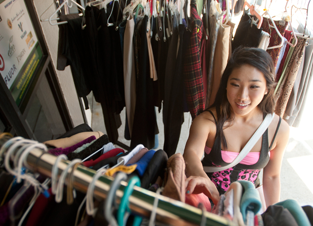 Clothes Closet Receives Record Donation