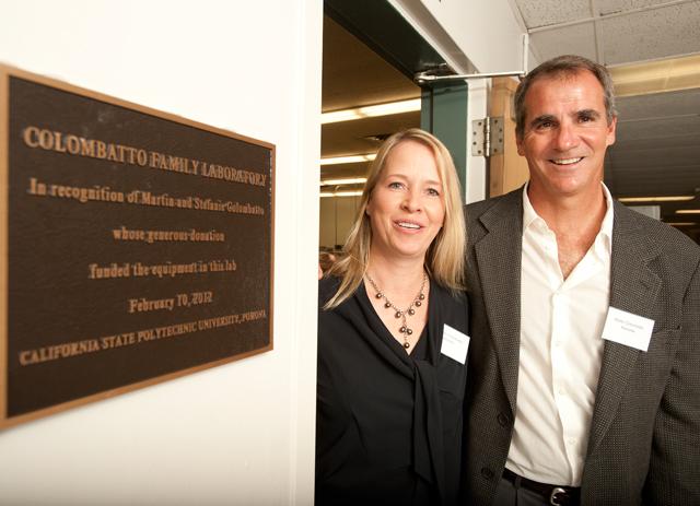 Alumni Donation Modernizes Engineering Lab