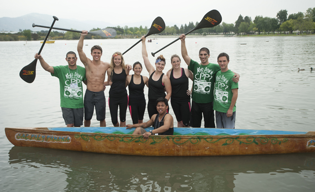 Concrete Canoe Team Glides to Second-Place Finish