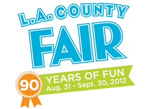2012 Los Angeles County Fair logo
