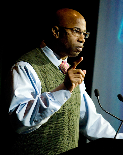 Political science Professor Renford Reese received the Hart Award on Sept. 19, 2011.