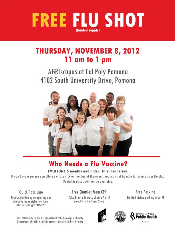 Flu Vaccine Flyers Free: PolyCentric