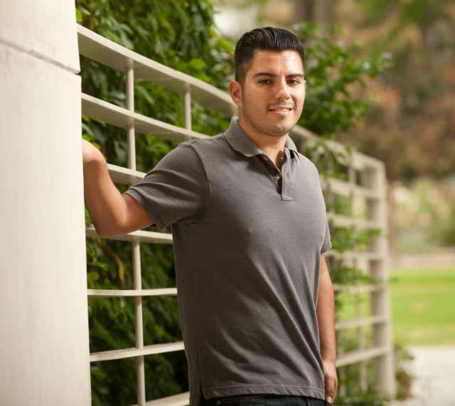 Octavio Gamboa, teacher credential student