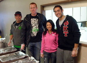 Greek Council Helps Pomona Homeless