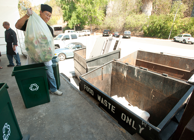 Campus Cafeteria Finds Green Alternative for Food Waste