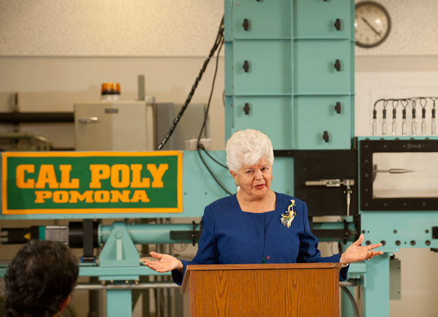 Aerospace Lab Named in Honor of Congresswoman