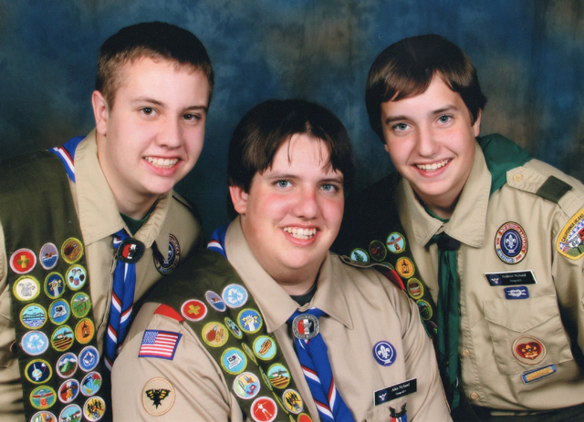 Nylund Brothers' Scouting Projects Benefit Campus
