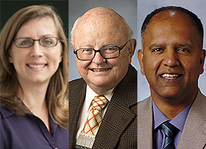 Trio Selected for Provost's Awards for Excellence