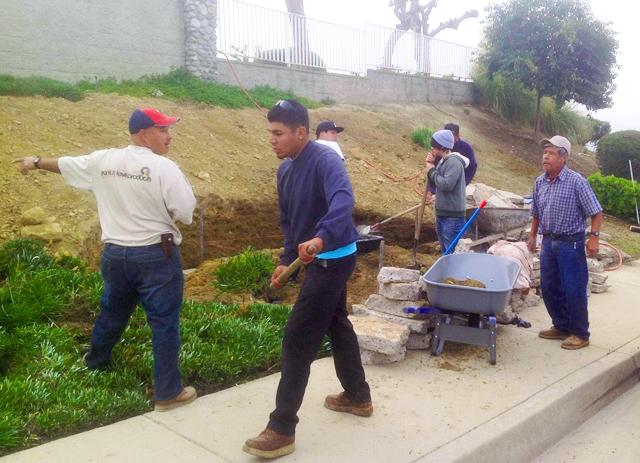 Students, Professor Build Memorial Garden for Victims