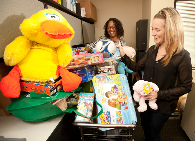 Former Foster Youth Organizing Toy Drive