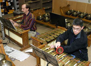 American Gamelan Performs on Campus