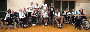 Cal Poly Pomona took on the Cypress Chargers in wheelchair basketball in 2009.