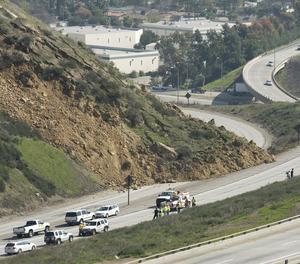 Connector Roads Reopen; Landslide Repairs Complete