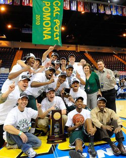 Broncos Win NCAA Division II Basketball Title