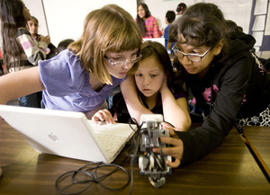 Robot Rally Challenges Young Minds in Math, Science