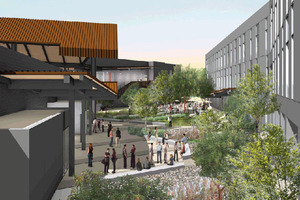 Construction Begins on New Business Buildings