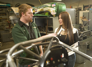 Race Car Driver Talks About Life in the Fast Lane