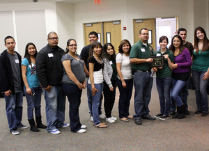 Student members of the Mexican-American Student Association (MASA)