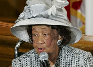 Dorothy Height, long-time civil rights activist
