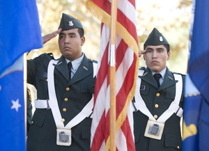 Campus Observes Memorial Day