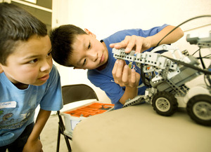 Robotics Program Expands its Reach