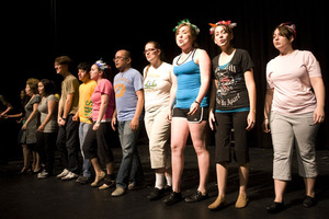 "The Music Theater Workshop presents ""Seussical the Musical."""