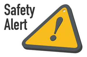 Safety Alert Test on Feb. 28