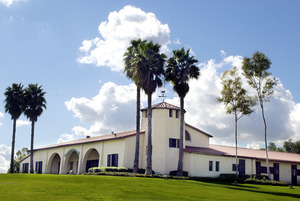 W.K. Kellogg's original horse stables are an iconic part of Cal Poly Pomona.