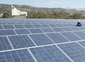 New Solar Panels to Power Campus