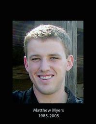 Matthew Myers, 1985-2005