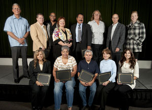 Emeritus Staff and Hammond Scholarship Winners Honored