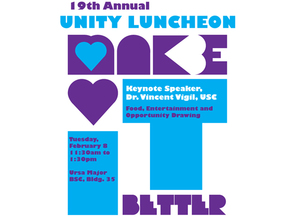Unity Luncheon to Promote Anti-Bullying Awareness