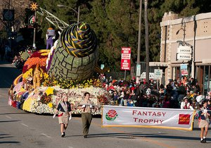 Rose Float Adds Viewers' Choice Award to Fantasy Trophy