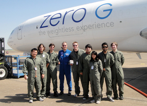 CPP Engineers Receive NASA Assistance in Zero Gravity Tests