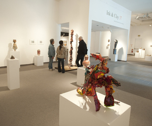 Ink & Clay Shows Best in Drawing, Printmaking and Ceramic Arts