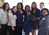 Bronco Athletic Association received the 2011 Student Organization Award for Civic Engagement.