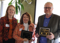 The Historical Society of Pomona Valley and Professor Dennis Quinn received the 2011 Partnership Award of Excellence.