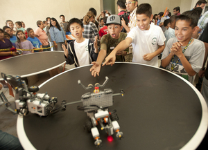 Learning and Fun Mix Together in Robot Competition