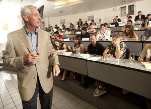 Coors CEO Shares Business Insights with Students