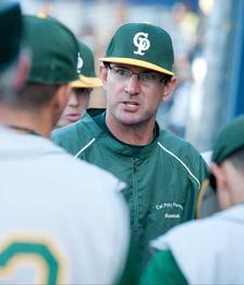 Head Baseball Coach Randy Betten on May 20, 2011.