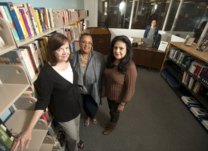 Gathering Support for the Library
