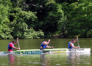 Concrete Canoe Team Takes Fourth at Nationals
