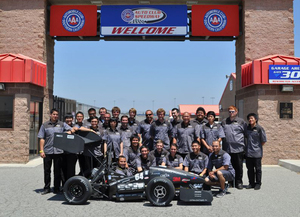 Formula Team Finishes 12th in International Race